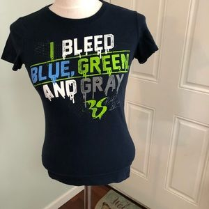Seattle Seahawks football team T-shirt